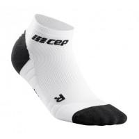 Cep Low Cut Socks 3.0 White/Dark Grey