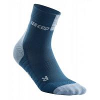 Cep Short Socks 3.0 Blue/Grey