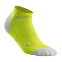 Cep Low Cut Socks 3.0 Lime/Light Grey