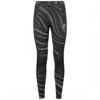 Odlo BLACKCOMB Base Layer Pants 187071-60064  black - odlo concrete grey