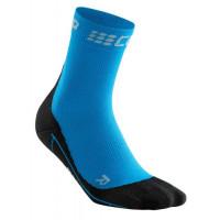 Winter Short Socks Blue/Black