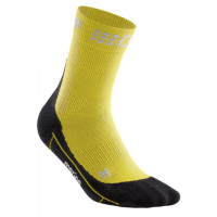 Winter Short Socks Yellow/Black
